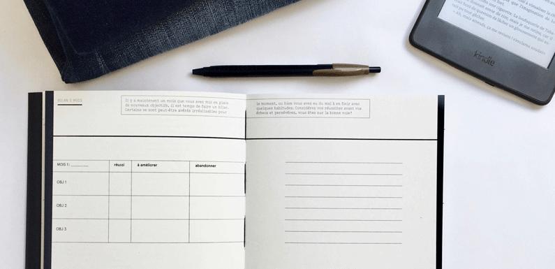 23heures59 éditions : le premier carnet de projets Made in France pour atteindre ses objectifs